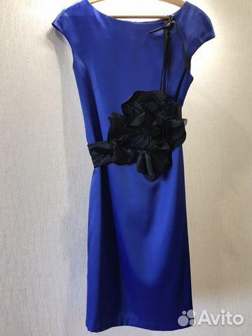 Платье новое с поясом-бант и болеро 89628553030 купить 3