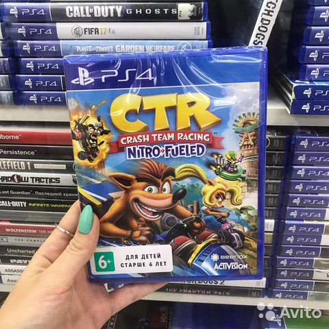 Crash Team Racing PS4 (Обмен)