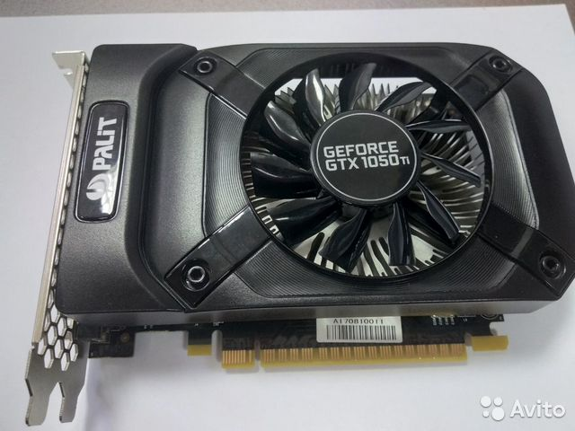 Видеокарта geforce GTX 1059Ti— фотография №1