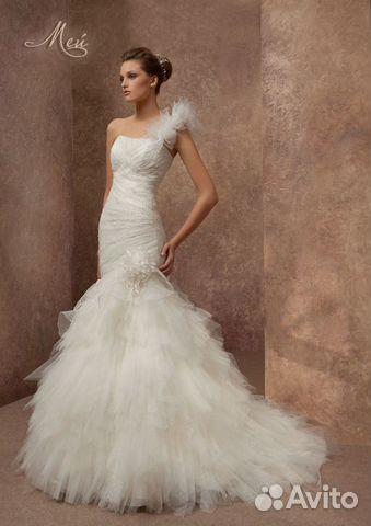 cc557ed3a9d3d97 Свадебное платье Мей, силуэт Русалка (рыбка) купить в Санкт ...