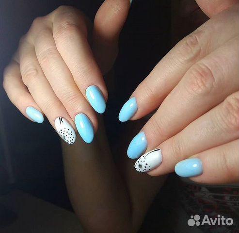 Наращивание ногтей, покрытие шеллак 89994311353 купить 5