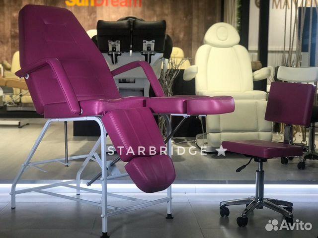 Кресло педикюрное цв. розовый 89282266618 купить 5