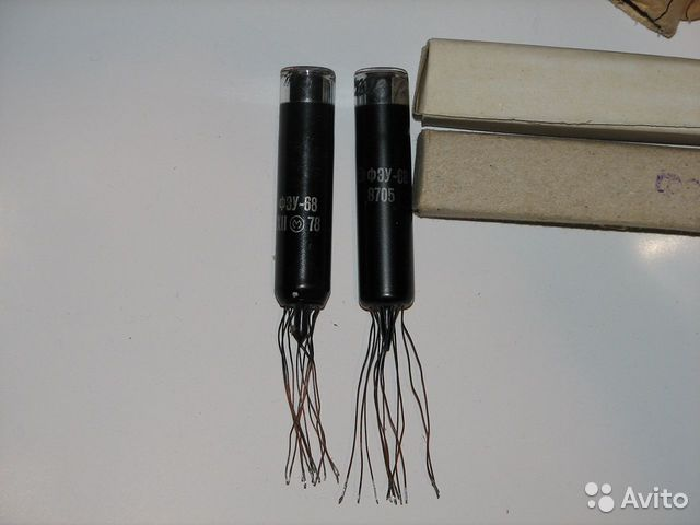 Фотоумножители фэу-68, электронные компоненты 89022072877 купить 2