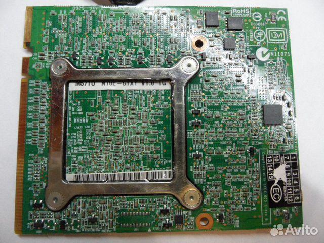 Видеокарта для ноутбука nvidia GTX280M MMX ll
