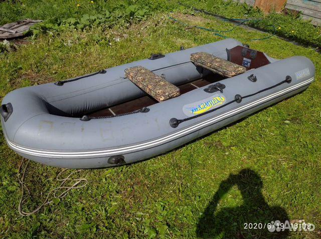 Продам лодку Адмирал 305 + мотор Ниссан Марин 5 89827505573 купить 1