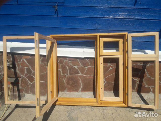 Окно, Деревянная рама Новая  89003117768 купить 4