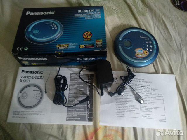 Cd плеер Panasonic sl-sx 320 новый  89027926572 купить 1