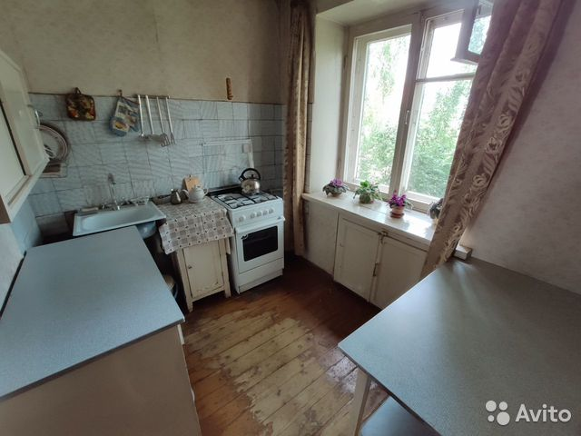 3-room apartment, 62 m2, 4/5 floor.