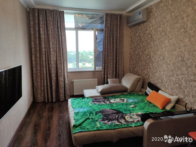 1-room apartment, 46 m2, 5/5 floor.  89182503609 buy 5