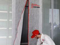 Временные (пленочные) двери на молнии для ремонта