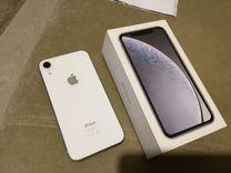 iPhone XR, белый, на гарантии
