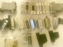 Разъёмы COM DB-9 LPT DB-25 DB-37