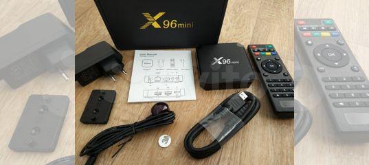 Андроид тв приставка X96 Mini Amlogic S905W