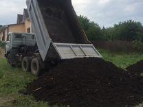 Чернозем без мусора доставка камазом