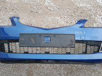 Mazda 6 GG бампер передний оригинал синий