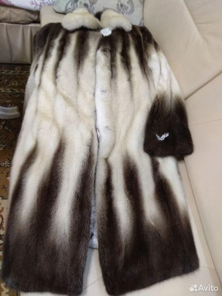 Шуба норковая размер 46