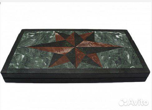 Подарочные нарды из натурального камня змеевика  89122288587 купить 2
