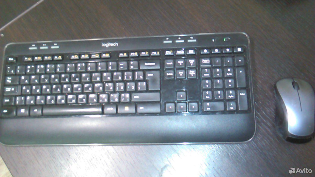 Беспроводная клавиатура и мышь Logitech Wireless