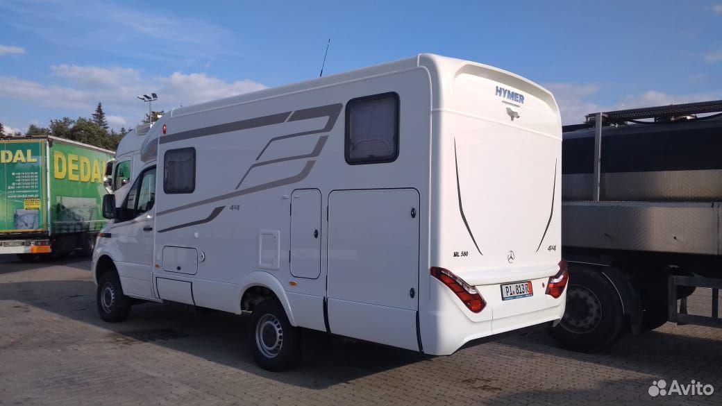 Автодом Hymer ML-T 580 - 4X4  89338894291 купить 3
