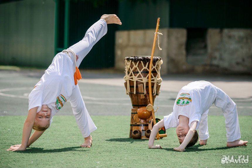 Капоэйра боевое искусство для детей