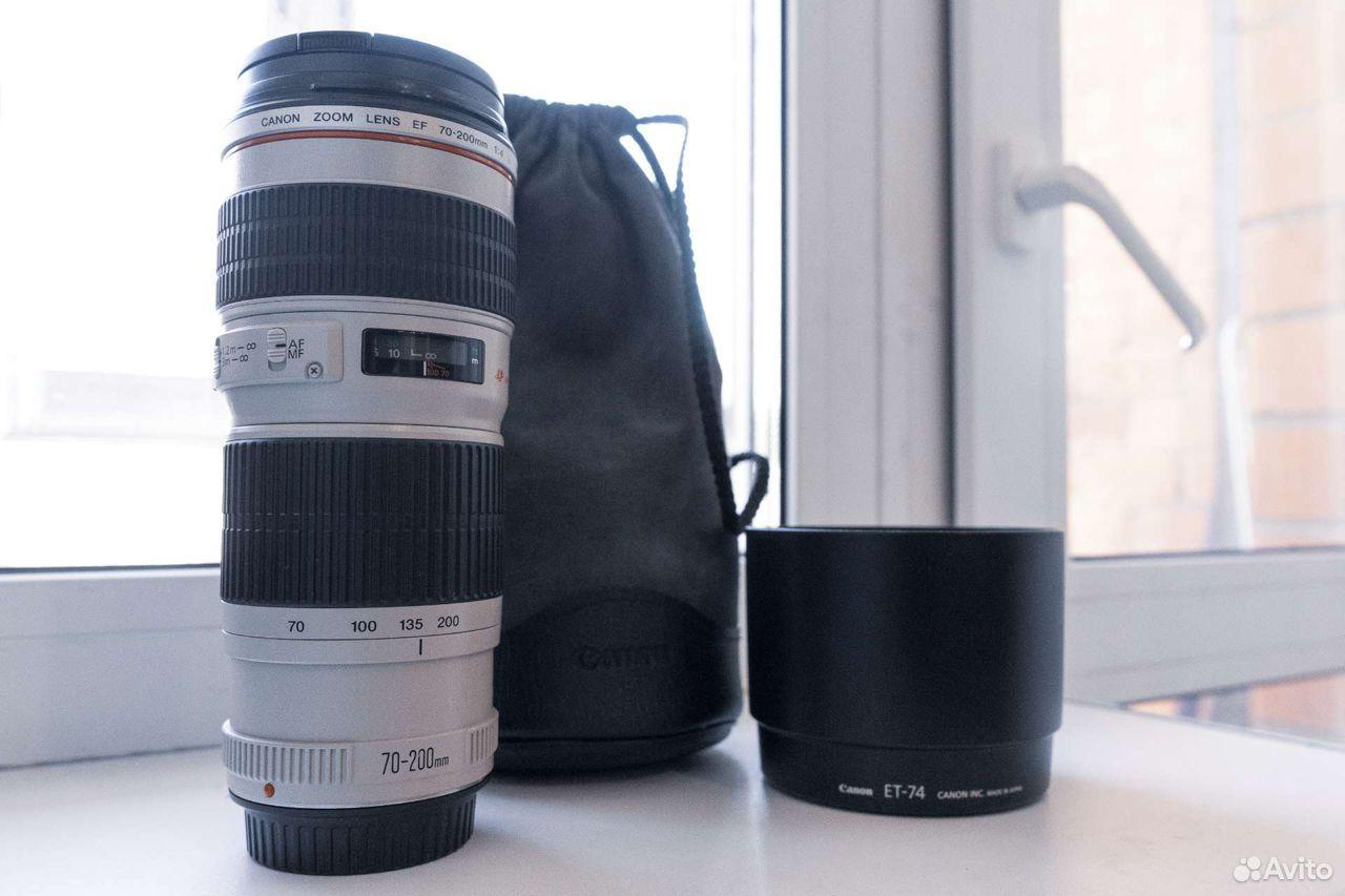 Объектив Canon 70-200 f4  89149047200 купить 2