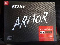 Видеокарты MSI AMD Radeon RX 580- 4шт