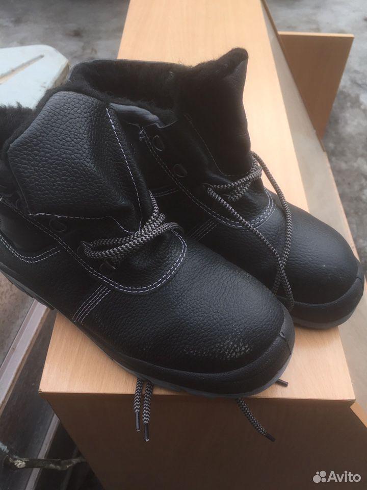 Ботинки рабочие с металлическими носами  89600998353 купить 1
