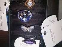 Кольцо Sokolov, серебро, разные