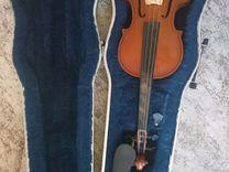 Скрипка 3/4 с футляром без смычка