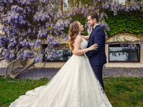 Свадебное платье бренда daria karlozi