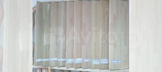 Мебельный щит ясень, бук, сосна, лиственница, дуб