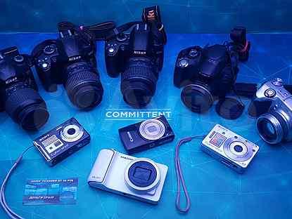 Фотоапараты зеркальные,полузеркальные,цифровые