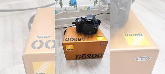 Фотоаппарат Nikon D5200 body + 2 доп. аккумулятора купить в Московской области | Бытовая электроника | Авито