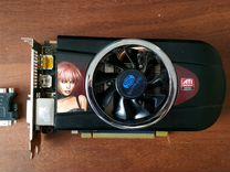 AMD Radeon 5700 series, 1gb + переходник на VGA