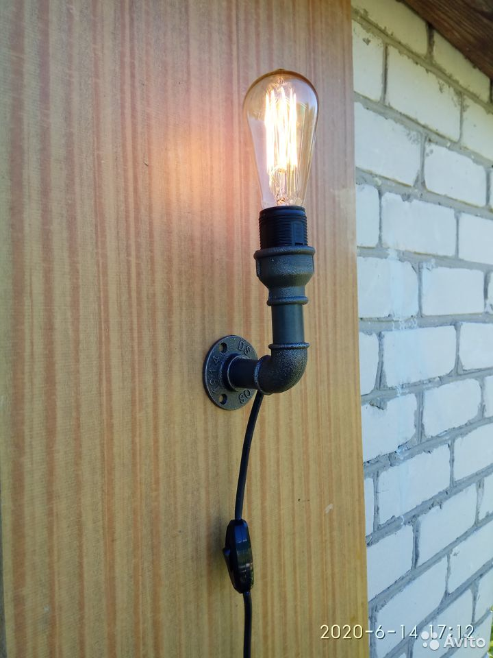 Настенный светильник (бра) в стиле Лофт  89510989100 купить 4