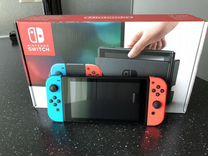 Новая,прошитая Nintendo Switch+игры