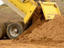 Песок строительный любой Песок с карьера от 1 куба