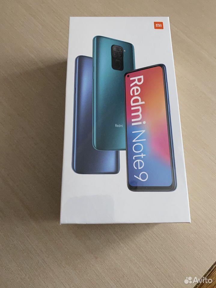 Xiaomi Redmi Note 9 3/64Gb Grey новый  89091700909 купить 1