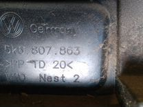VAG 5K6 807 863 Кронштейн бампера заднего