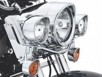 Кольца на поворотники Harley Davidson с козырьками — Запчасти и аксессуары в Москве