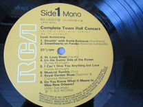 Louis Armstrong - Plays W.C. Handy - LP - Japan NM