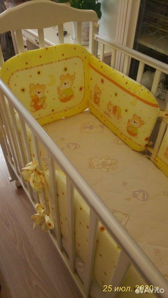 Детская кроватка два положения матрас ортопедическ  89243932969 купить 1