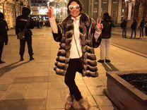 Итальянская шуба из Шиншиллы — Одежда, обувь, аксессуары в Москве