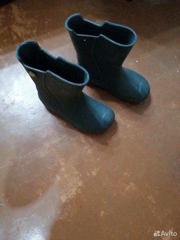 Ботинки, туфли, сапоги резиновые  89204449001 купить 2