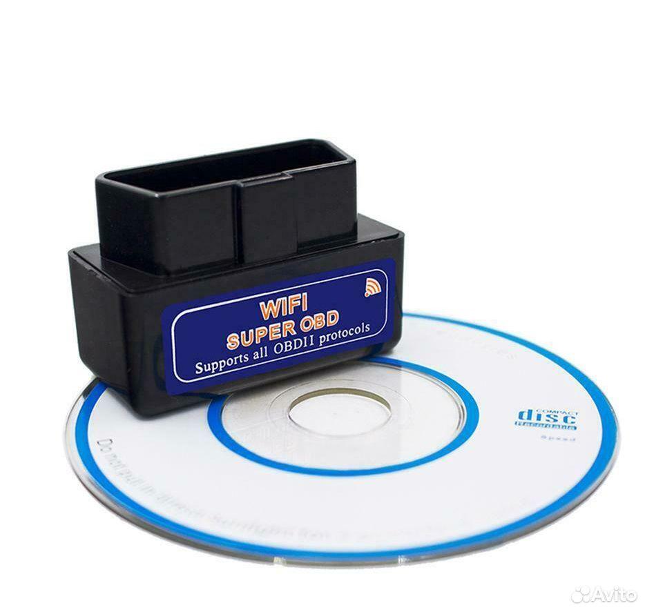 Сканер адаптер для диагностики автомобиля Wi-Fi