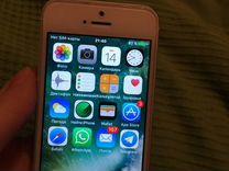 Айфон iPhone 5s, серебряный, silver, 16gb