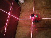 Лазерный нивелир 3D 12 лучей