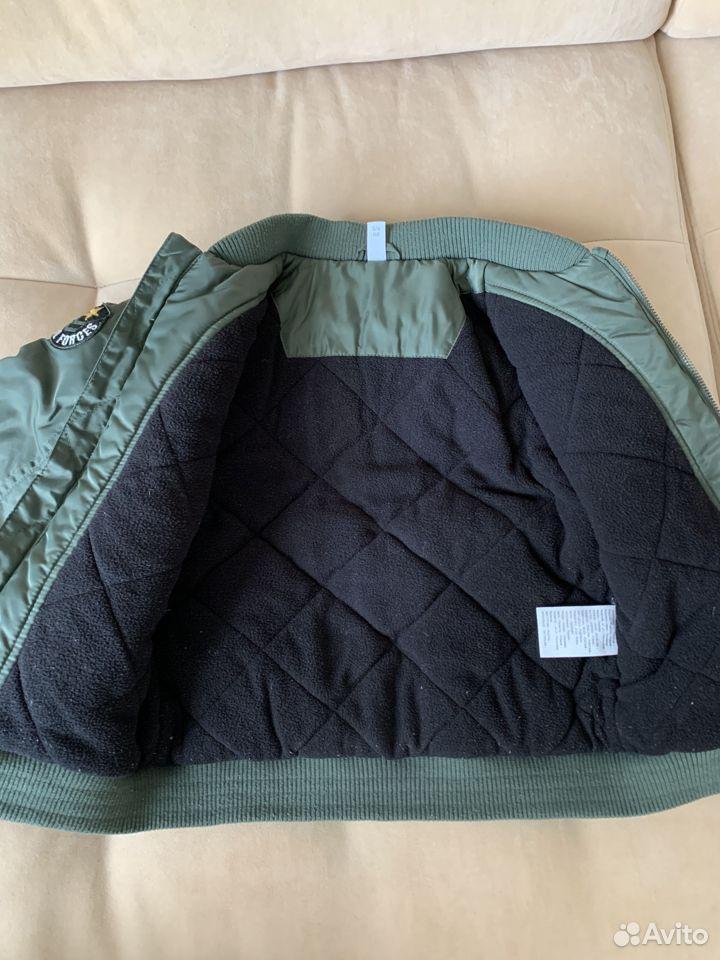 Бомбер р.116 демисезон (куртка утепленная)  89875129176 купить 3