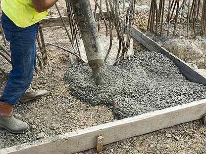 Бетон столбищи пропорция бетонной смеси на фундамент