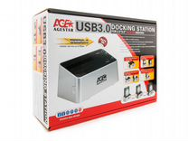 """Док станция 2x2.5"""" 3.5"""" SATA HDD SSD AgeStar uasp"""